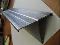 Профиль фасадный Т-образный 80*30 1,2мм