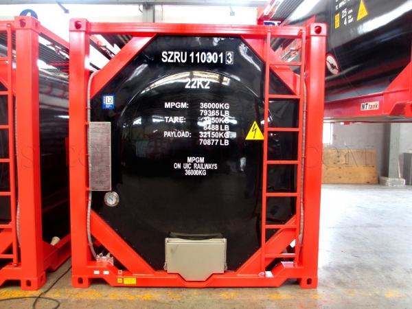 24 500$ Контейнер-цистерна 25 куб тип Т11 с утеплителем, пароподогрев