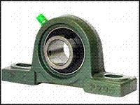 Корпус подшипника в сборе на лапах UCP209  вал 45 мм