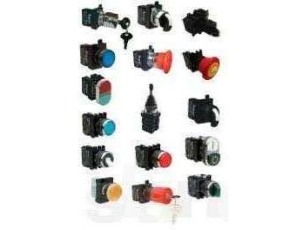 Kнопки круглые нажимные, джойстики, кнопки с ключем B100DY EMAS
