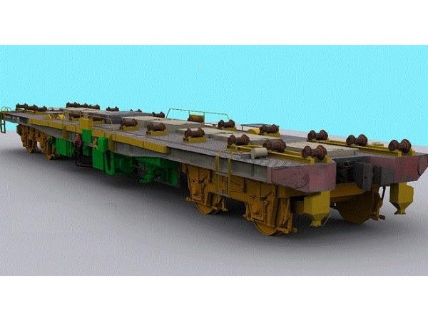 Платформа моторная дизельная МПД