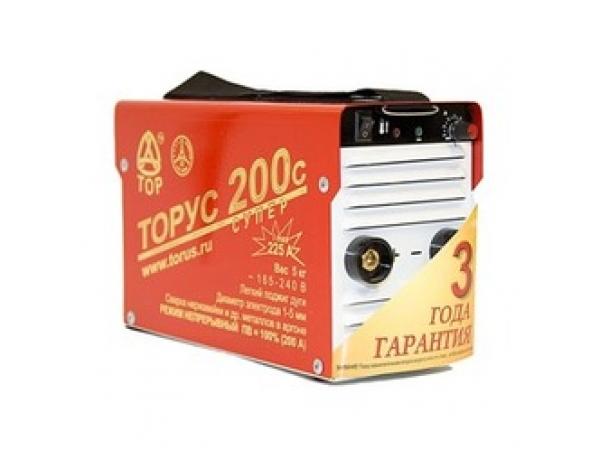 Сварочный инвертор ТОРУС-200с СУПЕР