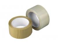 Скотч упаковочный прозрачный/коричневый