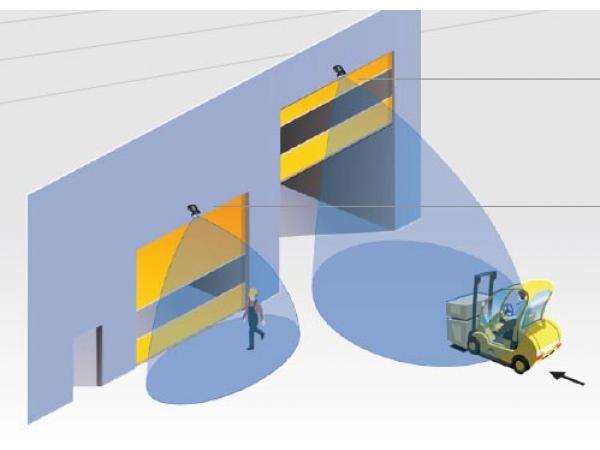 Профессиональный радар датчик Falcon для промышленных ворот
