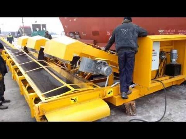 Перевалка сыпучих грузов из минераловозов в МКР(БИГ-БЕГ) по РФ