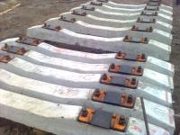 Шпала железобетонная в сборе, новая - 5800 руб/шт.