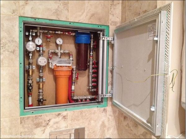 Смотровой люк для ванной купить
