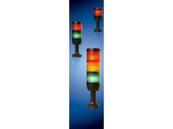 Сигнальная колонна, башня, красного свечения со светодиодом IK53L220XM