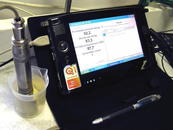 Октанометр МХ-10 USB. Проверь качество бензина !