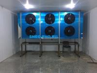 Шокфростер мощностью 69,9 кВт для заморозки 600 кг продукции в час