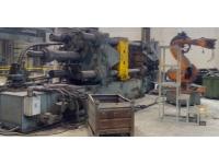 Комплекс литья под давлением CLH 1000 К с манипулятором 2005 г.