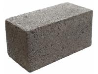 Блоки керамзитобетонные, полнотелые, 390х190х188