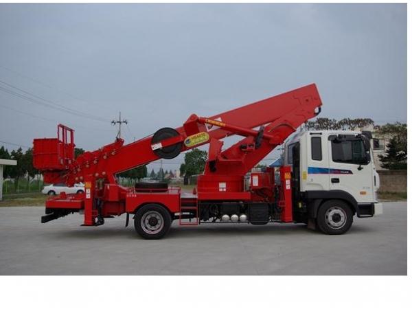 Сдается в аренду автовышка «Hansin HS-4070» высота подъема «40м»