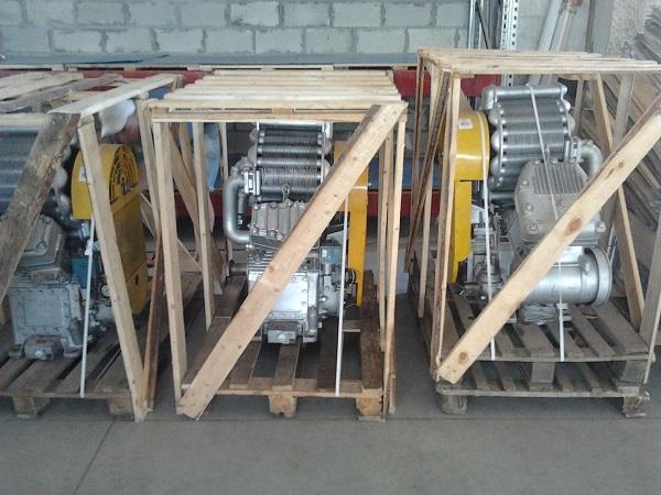 компрессор ВУ-3,5/10-1450 с подогревом для электровоза