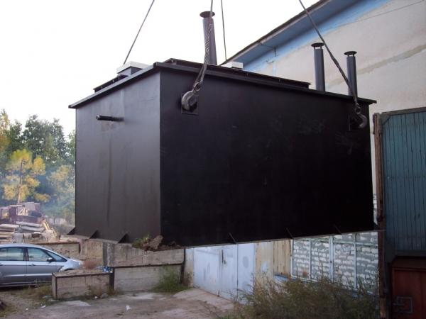 Очистные сооружения ливневой канализации