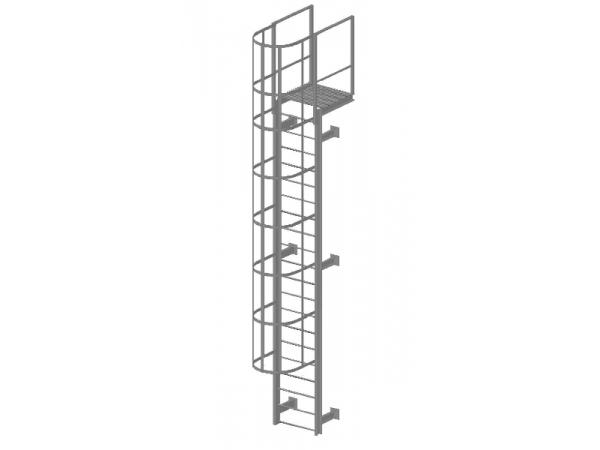 ћеталлоконструкции. ѕожарные эвакуационные лестницы.