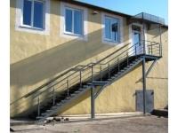 Изготовление пандусов, лестниц, входных групп, крылец