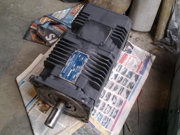 Двигатель постоянного тока 13МВН 13Нм. (Болгария)