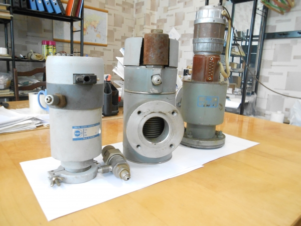 Клапана для вакуумных установок