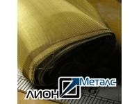 Сетка 0.1х0.1х0.06 тканая латунная фильтровая латунь Л-80 ГОСТ 6613-86