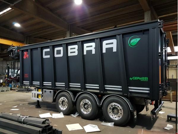 Самосвальный полуприцеп COBRA KR50H GERVASI TDC368