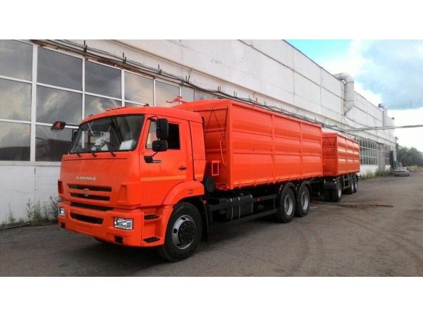 Зерновоз КАМАЗ-65115