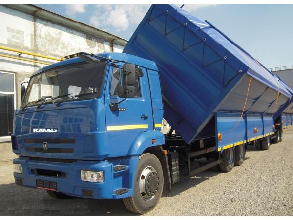 Самосвал-зерновоз КАМАЗ-65115