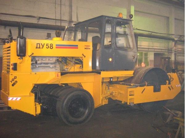 Капитальный ремонт катков ДУ-62,ДУ-58.
