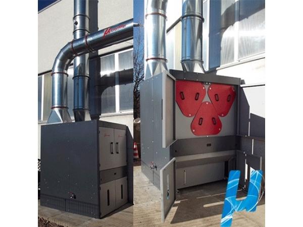 Установка фильтрации (удаления) масляного тумана серии Ecotech