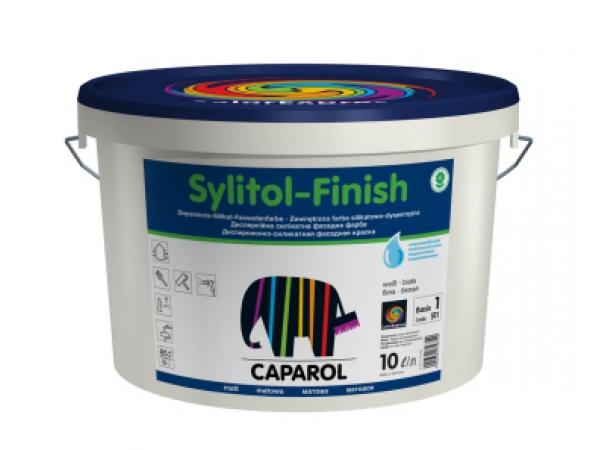Силикатная фасадная краска Caparol.