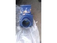 Задвижка бетоновода DN 125 . Механический отсекатель бетона  DN 125