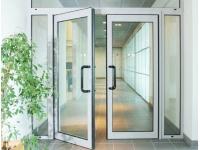 Межкомнатные офисные двери из алюминия