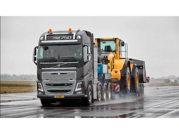 Перевозка негабаритных грузов по РФ