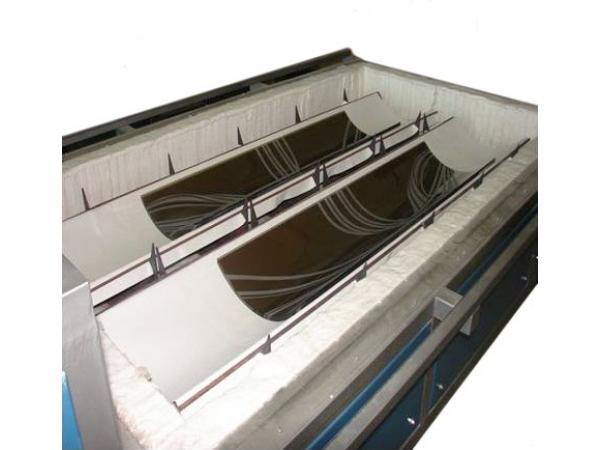 Печь для гравитационного моллирования стекла ПГМ -1511