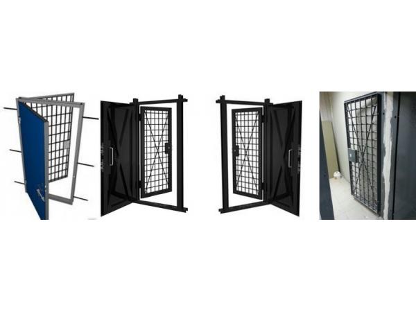 Производство дверей в КХО (Комната хранения оружия)