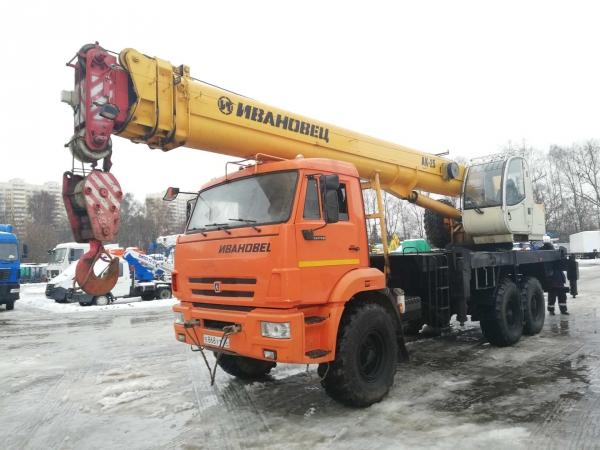 Продам Автокран ИВАНОВЕЦ КС-45717К-3Р