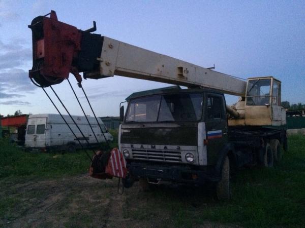 Автокран Галичанин КС-4572