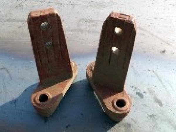 Лопатки, стойки на смеситель ДС-158, ДС-185, ДС-117