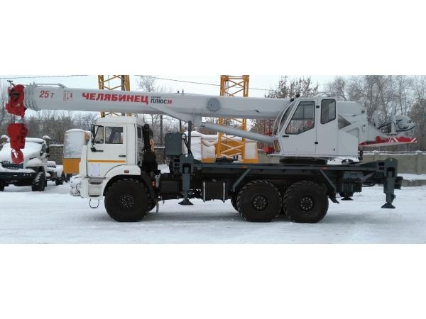 Автокран КамАЗ 43118 Челябинец КС-55732-21