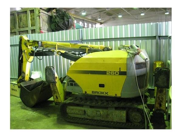 Робот-разрушитель Brokk 260, 2013 г.в.