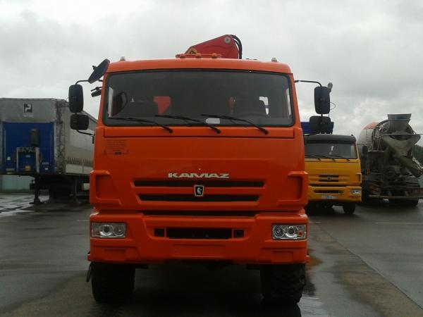 Бортовой автомобиль КАМАЗ 43118 с КМУ Palfinger PK-23500A