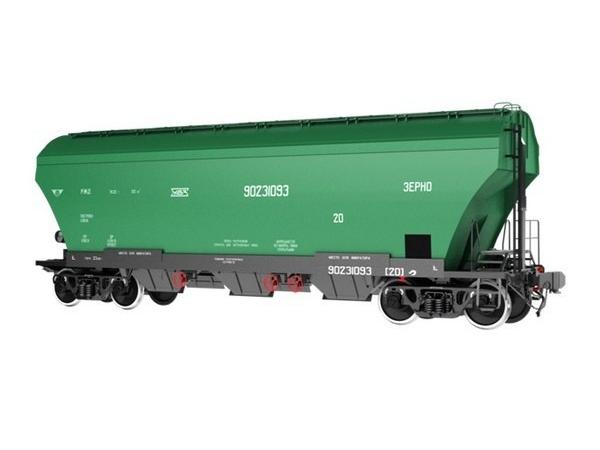хоппер зерновоз модель 19-6869 новый (2019г)