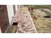 Сколько стоит квадратный метр укладки тротуарной плитки