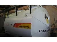 Резервуар горизонтальный стальной V-10м3, РГСН-10