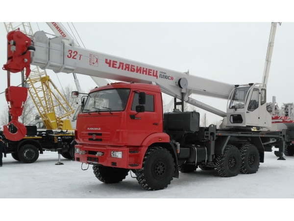 Автокран Челябинец КС-55733-26 шасси 43118