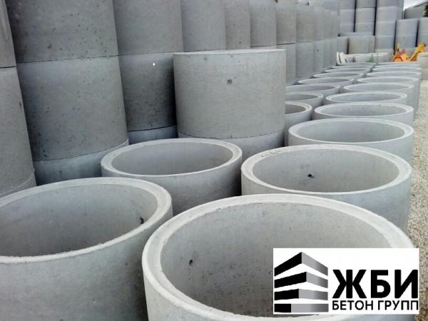 Колодец КСД /КЦД 10-9ч Кольцо бетонное с дном в Ступино