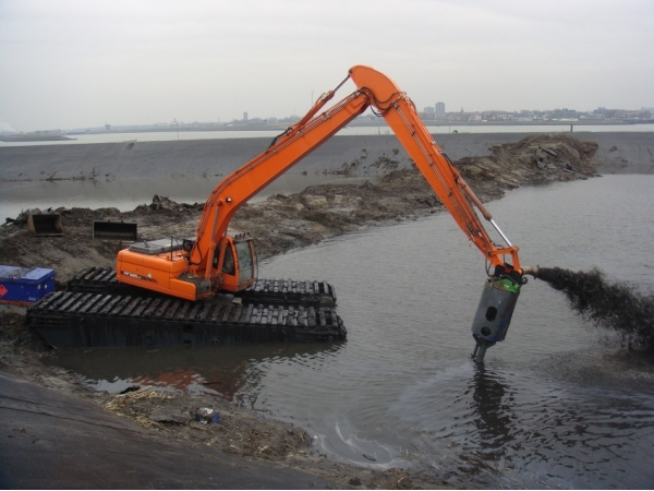 Дноуглубительные системы bell dredging pumps