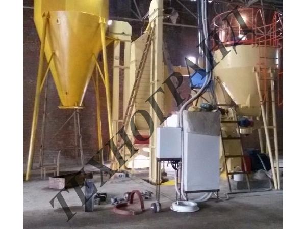 Участок гранулирования ОГМ. Производитель оборудования.