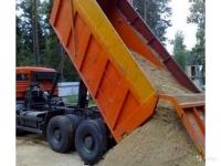 Продажа песка,щебня