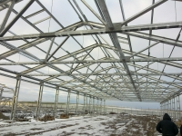 Строительство ангары, склады, тепличные комплексы